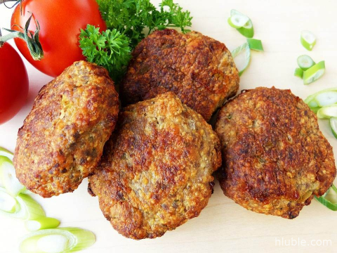 Cutlets with buckwheat