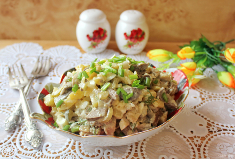 "Salad ""Summer all year round»"